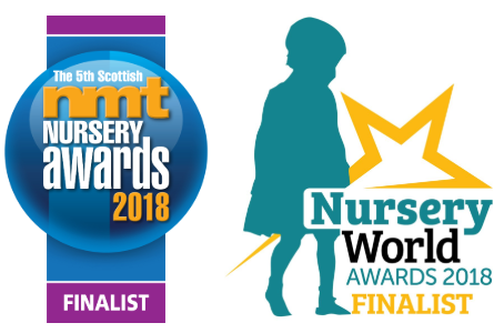 We're pleased to announce that we've been chosen as a finalist in the Scottish NMT and Nursery World awards 2018!